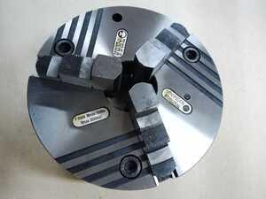ПР-250.65.K6 Патрон токарный клинореечный самоцентрирующий трёхкулачковый 250 мм. с креплением непосредственно на фланцевый конец шпинделя по ГОСТ 12595 (DIN 55026)
