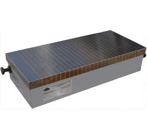 Плиты электромагнитные прямоугольные мелкополюсные с поперечным расположением полюсов