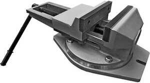 7200-0225-04 Тиски чугунные поворотные с ручным приводом облегчённые