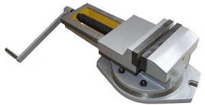 7200-0220-02 Тиски станочные чугунные поворотные с ручным приводом