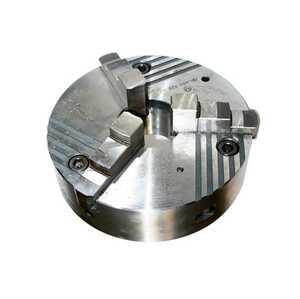 ПР-400.120.К11 Патрон токарный клинореечный самоцентрирующий трёхкулачковый 400 мм. с креплением непосредственно на фланцевый конец шпинделя по ГОСТ 12595 (DIN 55026)