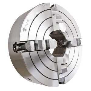 7103-0012 Патрон токарный четырёхкулачковый 315 мм. с независимым перемещением кулачков с креплением через поворотную шайбу по ГОСТ 12593 (DIN 55027)