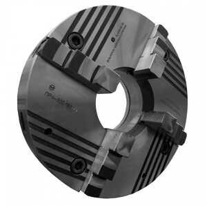 ПР4-500.180.С440 Патрон токарный клинореечный самоцентрирующий четырёхкулачковый 500 мм. с креплением через переходной фланец по ГОСТ 3889