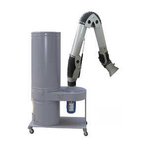 УВП-2000АК с ПВУ Установка вентиляционная пылеулавливающая на колёсных опорах с поворотно-вытяжным устройством