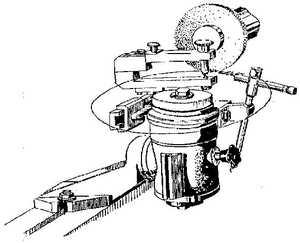 ВЗ-318.П56 Приспособление для заточки дисковых пил по торцу зубъев