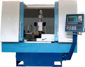 ВЗ-721Ф4 Полуавтомат заточный с ЧПУ для червячных фрез